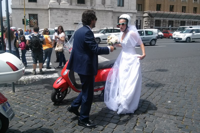 Roman Holiday Scooter Tour