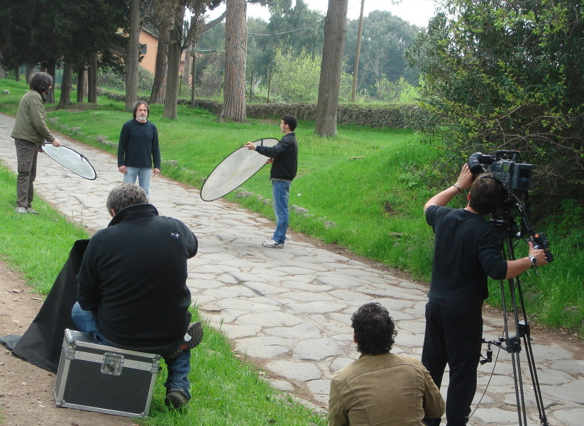 film making in Rome - film tour in Rome